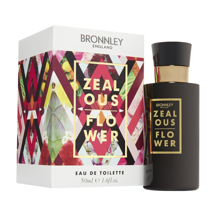 Zealous Flower Eau de Toilette- ruby red citrus notes flaming with the tropical, narcotic flowers of tuberose, gardenia & ylang ylang. Discover Eclectic Elements.