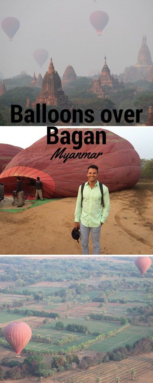 Riding a hot air balloon in Bagan, Myanmar. Everything about this epic balloon flight over Bagan, Myanmar.