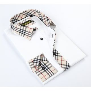 Shop for Banana Lemon Classic White Button-up Dress Shirt. Get free delivery at Overstock.com - Your Online Men's Clothing Shop! Get 5% in rewards with Club O! - 18920103