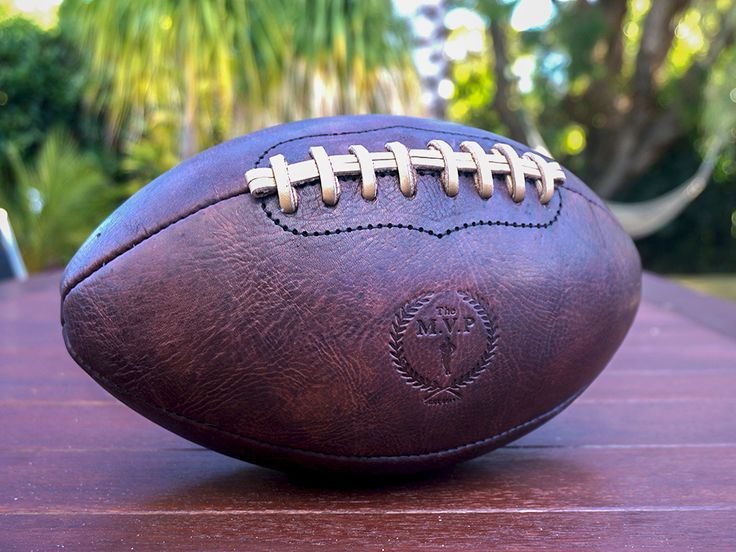 MVP Heritage Leather American Football