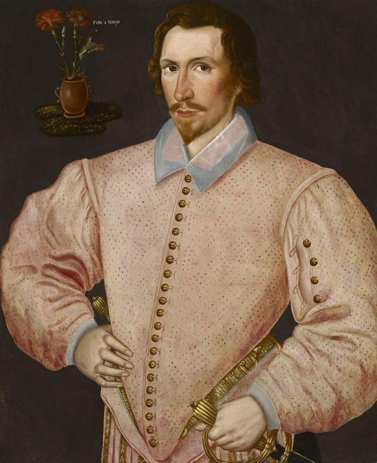 Hieronimo Custodis, active 1585 – 1593. Sir Thomas Drake of Buckland Abbey, Yelverton (1556 – 1606)