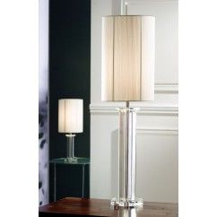"""Galway Crystal - Ritz Large Lamp 33.5"""" and Free Shade. € 199.00"""