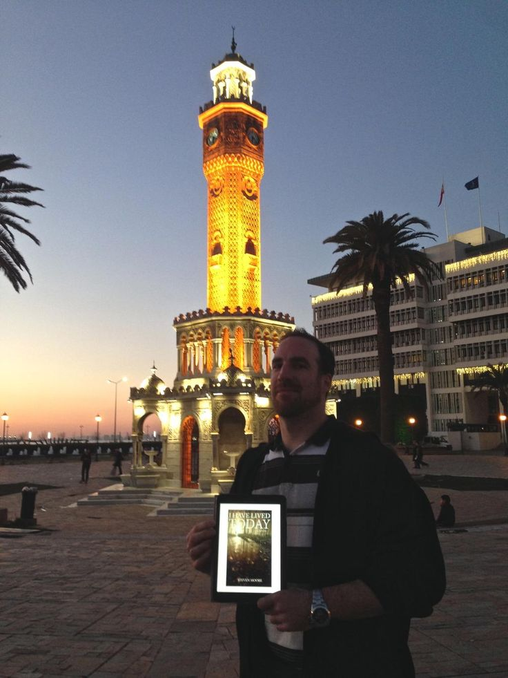 The Clock Tower, Izmir, Turkey Day 5 of the #IHaveLivedToday #WorldBookTour