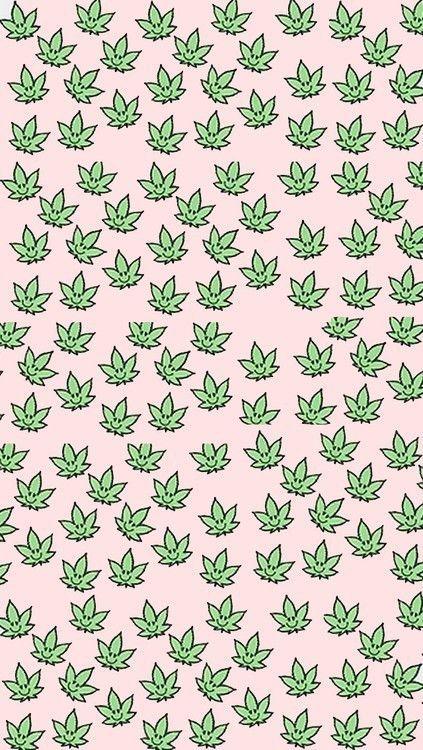 background, cute, fondo, green, indie, pink, plant, rad, smoke, soft grunge, tumblr, wallpaper, weed, First Set on Favim.com, plantita Like My Instagram Page #zz #zwyanezade #21