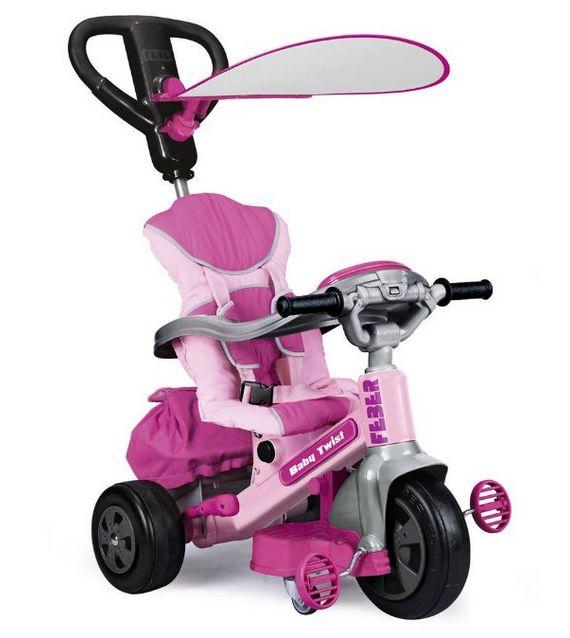 Justmoment TRICICLO FEBER BABY TWIST 12 MESI-5 ANNI - Infanzia & Toys