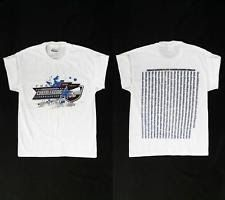 NEW Hanes Cheerleading Girls size L Cotton T-Shirt White Graphic Designer DEALS