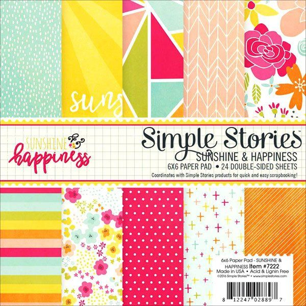 Happiness Paper Pad