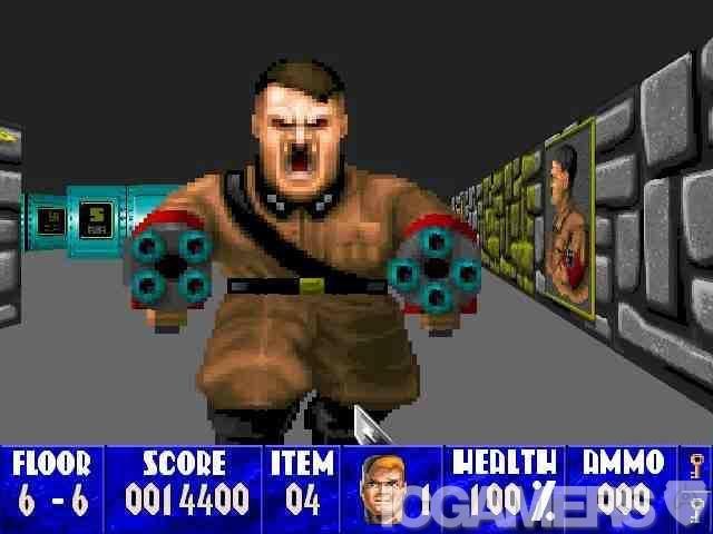 Wolfenstein 3D (PC) #wolfenstein #pixelart