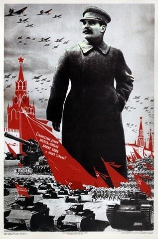 Joseph Stalin: USSR Constructivism Propaganda (?)
