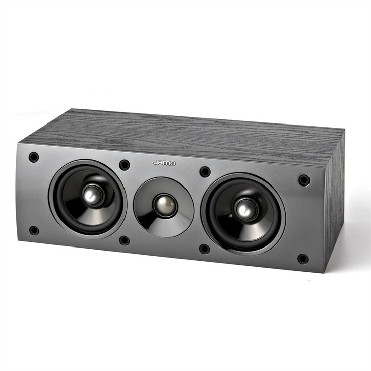 The Studio Series brings real value—and high quality—together with an entire line of beautiful, practical speakers. The shielded S 50 CEN center channel brings movie dialogue, music and effects to larger-than-life status. The Jamo S 50 CEN can be mounted either directly on the wall or placed on a video shelf.