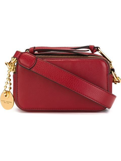 Marc Jacobs Bolsa de couro modelo 'Recruit Camera'