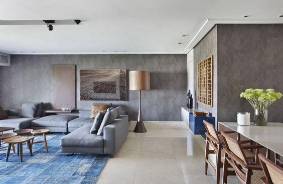 25 paredes de concreto para se inspirar – reDecora