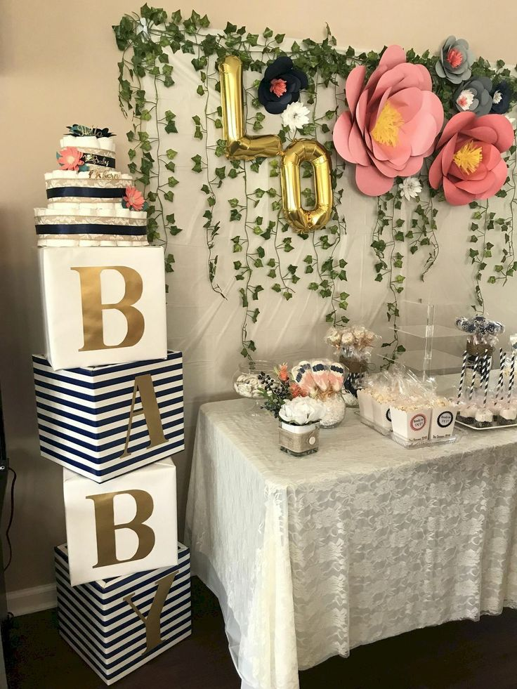 50 Cute Baby Shower Themes And Decorating Ideas For Girls (15