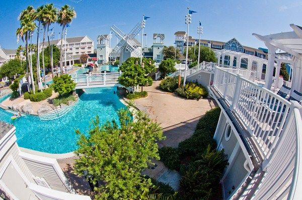 Disney's Beach Club Resort is a Deluxe Resort hotel at Walt Disney World themed to the seaside resort cottages found in New England in the early 20th centu