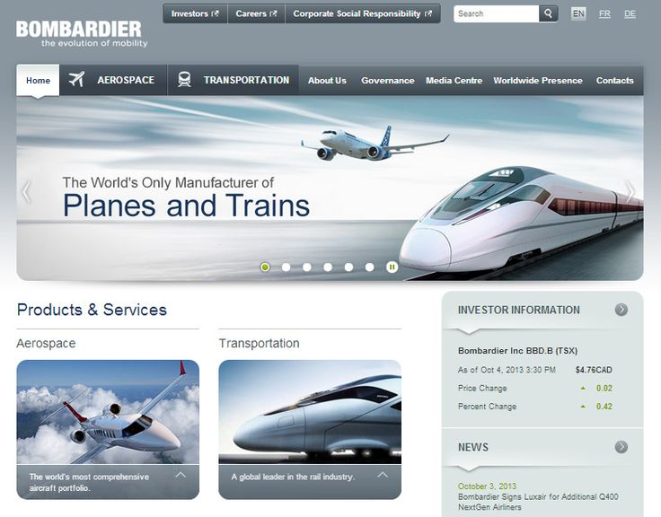 Bombardier Uses Adobe Experience Manager to Unify Brands Online - Techvibes.com