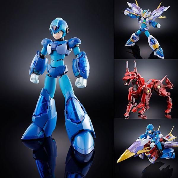 BANDAI CHOGOKIN Rockman Mega Man-x Giga Armor-X Action Figure