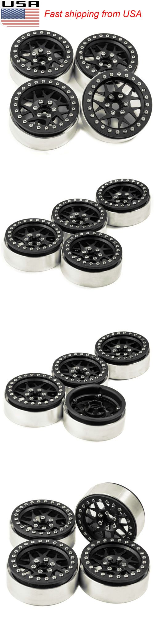 Wheels Tires Rims and Hubs 182201: 4Pcs 2.2 Alloy Beadlock Wheel Rims W Hub For Wraith Rc4wd D90 Rc Crawler Us -> BUY IT NOW ONLY: $56.99 on eBay!