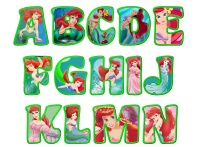 MANY different Disney theme alphabets you can download