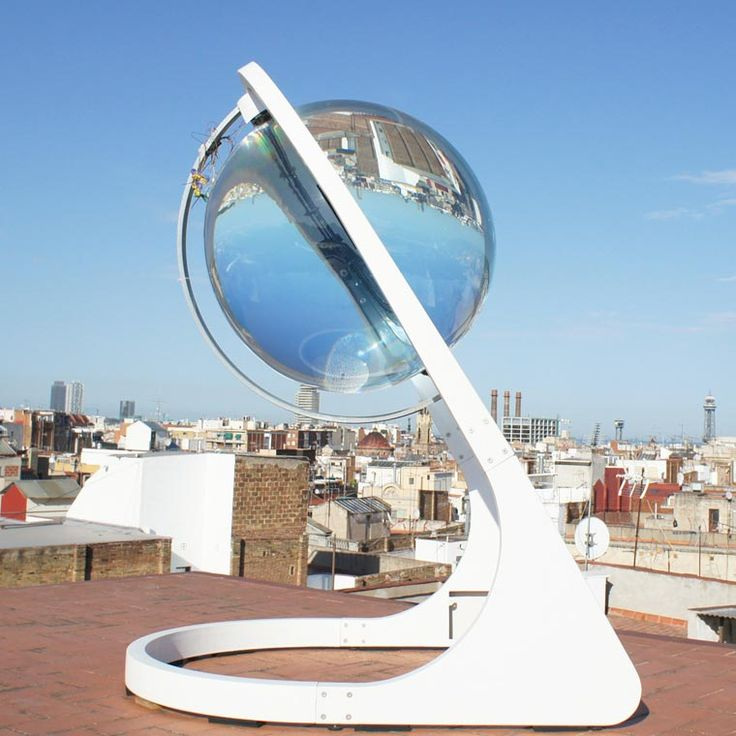Rawlemon – This huge transparent sphere is a revolutionary solar collector (image)