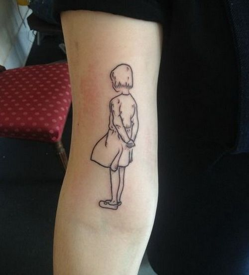 Best 25+ Little Girl Tattoos Ideas On Pinterest