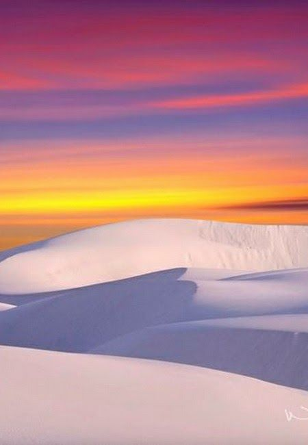 Glistening white sand dunes of New Mexico. We at TheCultureTrip.com are here to help. Click on the image and discover the hidden gems of New Mexico.                                                                                                                                                      More