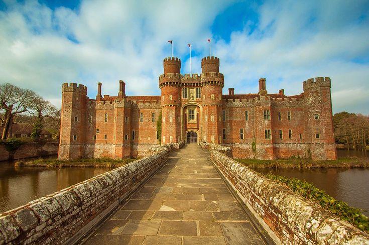 Castillo De Herstmonceux, Sussex Del Este, Monumento