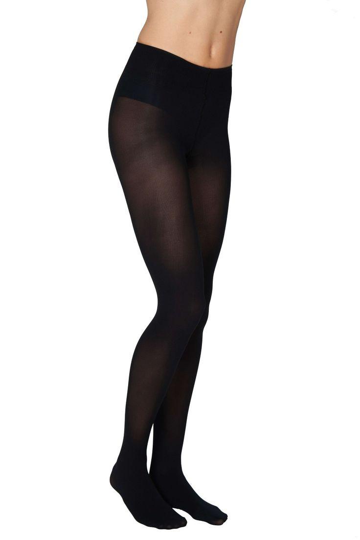 PANTY OLIVIA ZWART 60 DENIER - Panty's - Dames | Goodfibrations