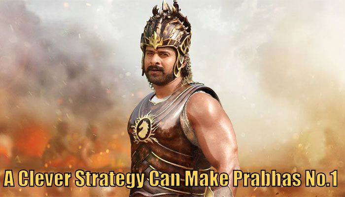 Prabhas getting great craze in bollywood. A clever strategy now can make prabhas no 1. Who is number 1 in tollywood ? Who is no.1 in bollywood ? Prabhas no1