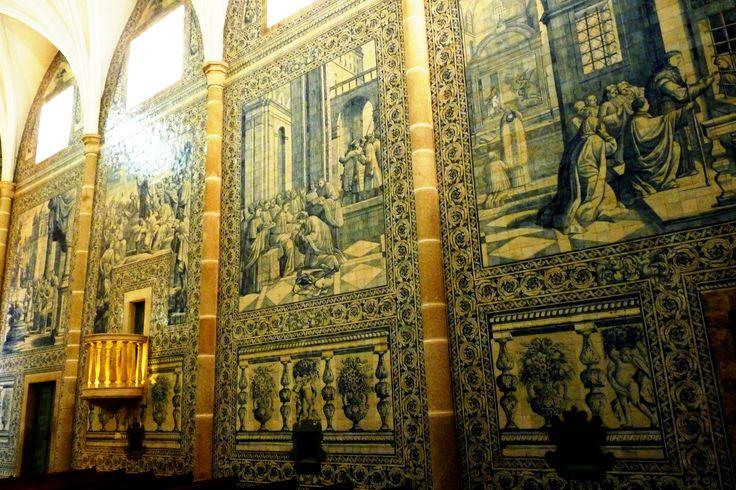 Vora igreja de s o jo o evangelista ou de l ios os azulejos pintados em lisboa pelo mestre - Azulejos roman ...