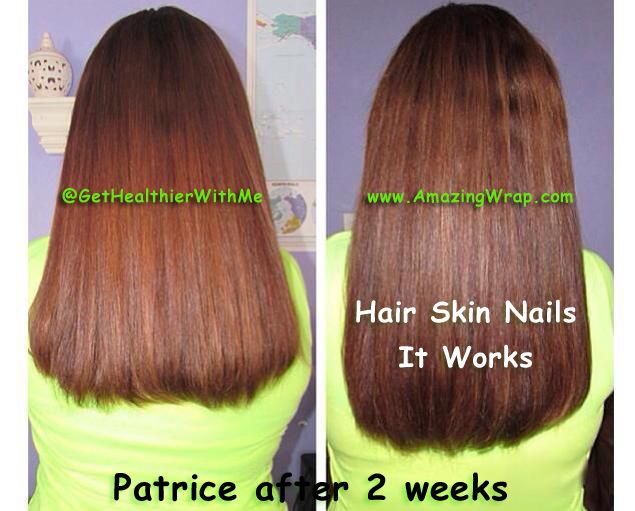 Hair Skin Nails from It Works -Boosts your natural ...