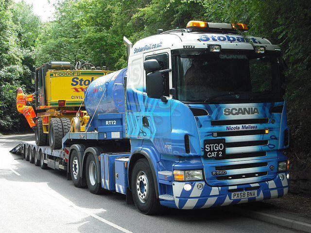 Scania - Eddie Stobart Rail