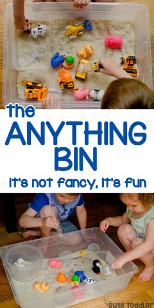 "Make an ""Anything Bin"" with Your Kids"