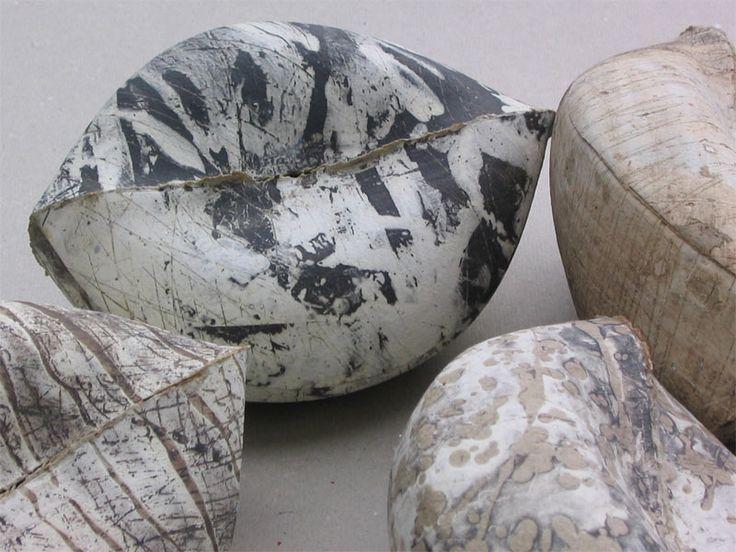 Anna Klimešová, Fruits, detail, 2002, 14 x 11 cm #clay #sculpture #fruit