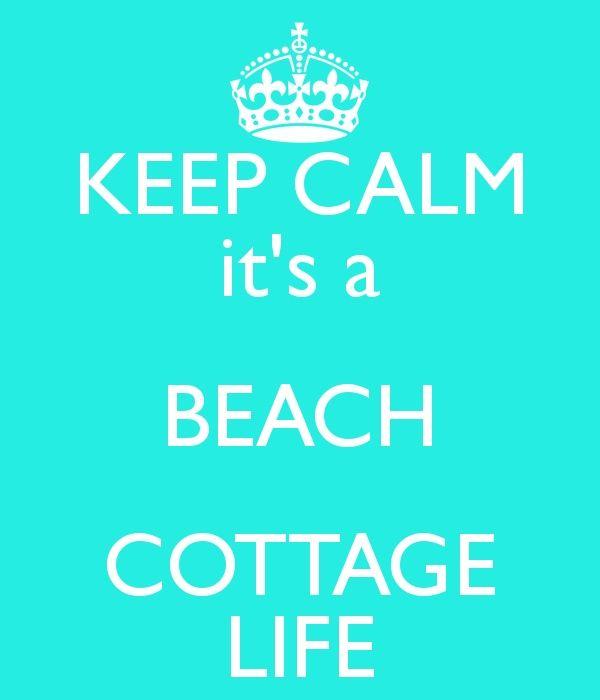 A BEACH COTTAGE LIFE!