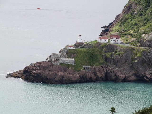 Scenery from Cabot Tower, Signal Hill National Historic Site, St. John's, Newfoundland, Canada