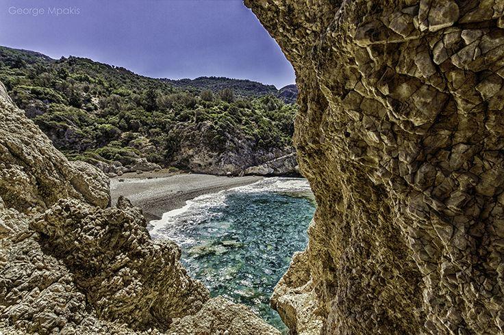 Small Seitani Beach!Samos Island Greece! Photo By George Mpakis