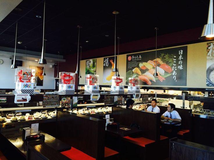 Hop On the Sushi-Go-Round at Kula Revolving Sushi Bar - Eater San Diego