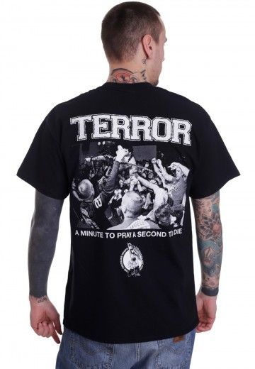 Terror - Minute To Pray - T-Shirt - Impericon.com Worldwide