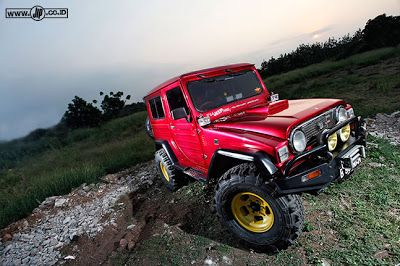 MODIFICATION DAIHATSU TAFT F50 1980 'GULALI TURBO' | dosop