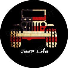 About our product line and options Designed and manufactured here in the United States Tire Covers 4 Jeeps.com provides the highest quality custom spare tire covers designed to last for years in all weather conditions. Our covers are printed on high quality vinyl which allows for crisp images and photo quality printing that will last. Follow us on Facebook Twitter Google Pintrest and Tumblr