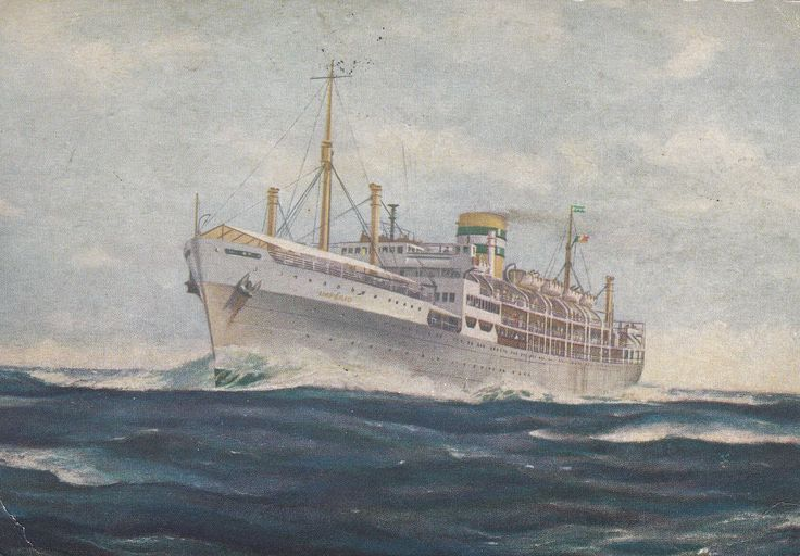 """Paquete """"Império"""", Companhia Colonial de Navegação (Portugal)"""