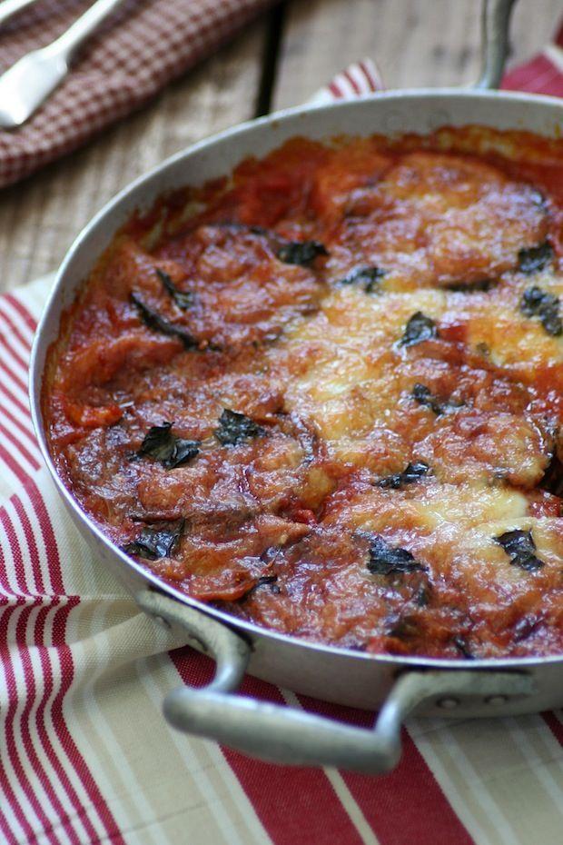 Berenjenas con tomate / Platos principales / HazteVeg.com