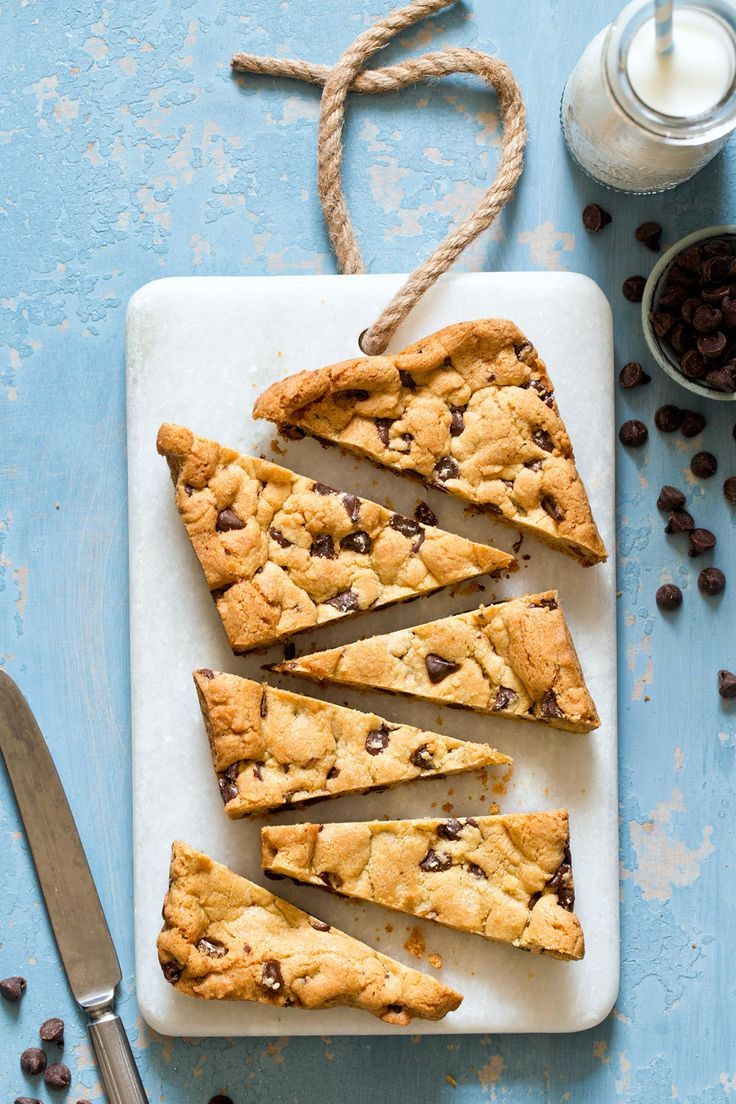 Forget Tollhouse, these Small Batch Chocolate Chip Cookie Bars are out of this world! This easy to follow recipe makes the best chewy cookie bars without using a cake mix!
