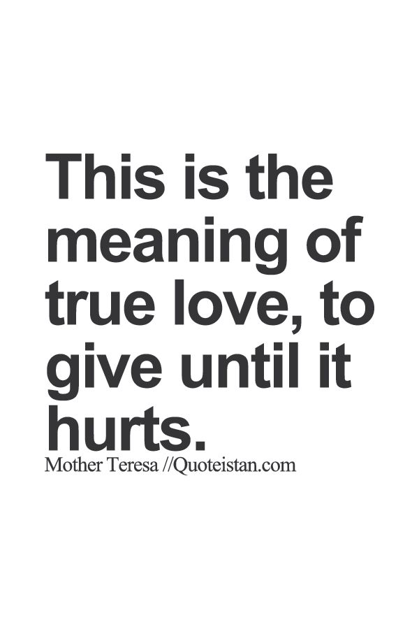 This is the meaning of true #love to give until it hurts. http://www.quoteistan.com/2015/09/this-is-meaning-of-true-love-to-give.html