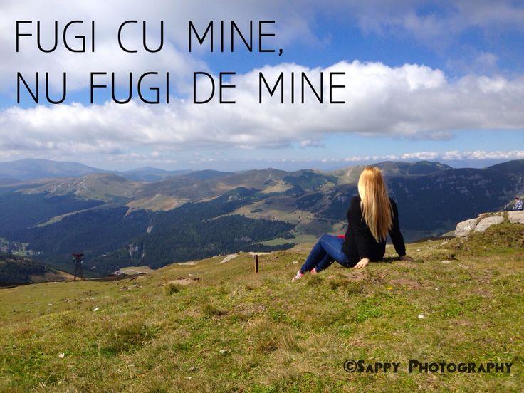 Fugi cu mine nu fugi de mine / Deasupra lumii #munte #Busteni