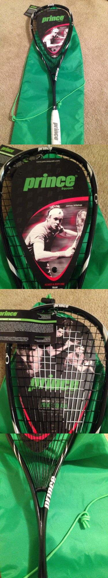 Squash 62166: Prince O3 Squash Racqet -> BUY IT NOW ONLY: $135 on eBay!