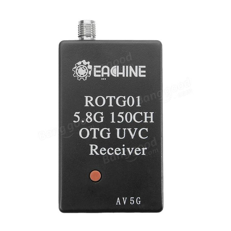 Eachine ROTG01 UVC OTG 5.8G 150CH Full Channel FPV Receiver For Android Mobile Phone Tablet Smartphone Sale - Banggood.com