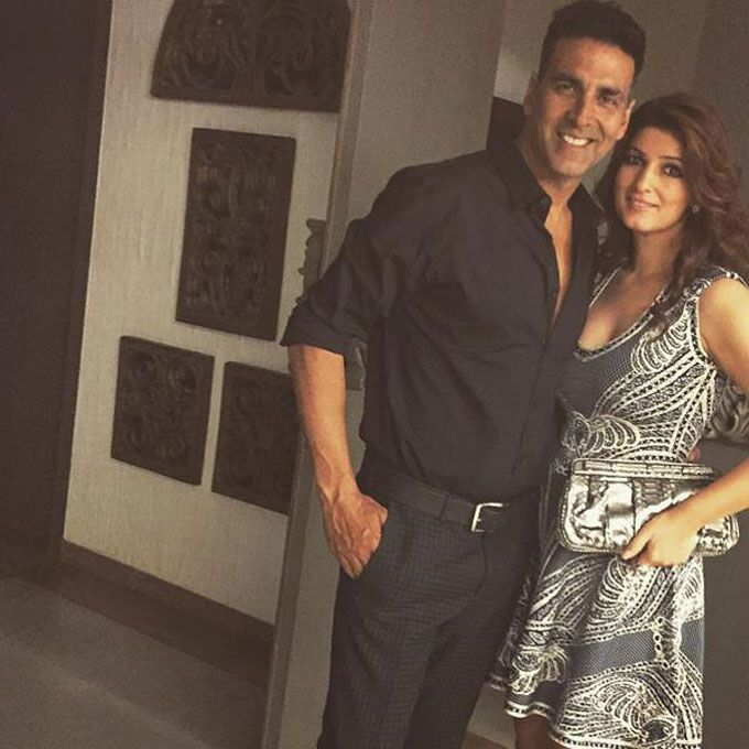 Birthday Fun: Wifey Twinkle shares picture with handsome Birthday boy  Akshay!