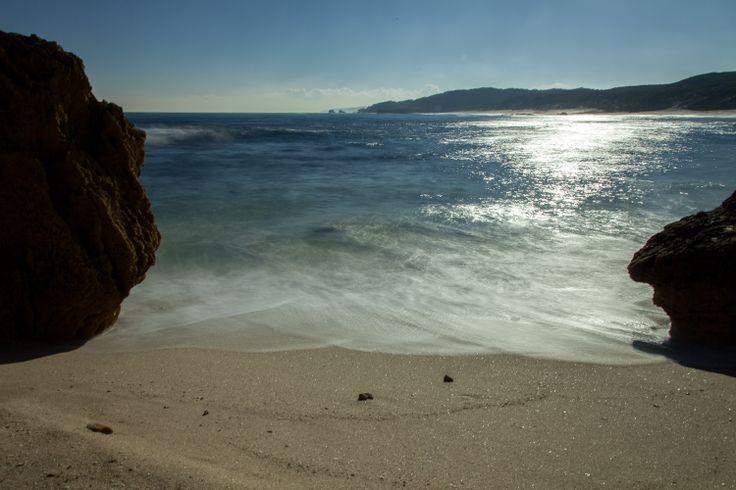 Long exposure landscape using Neutral Density Filter - Mornington Peninsula back beaches