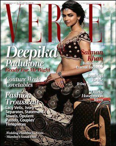 Deepika Padukone showing her figure